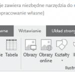 Nowy arkusz pracy zawiera niektóre funkcje dostępne dla użytkowników programu Excel 2016.