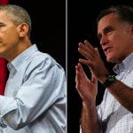 Obama i Romney Slug It Out Over Taxes