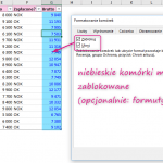 Ochrona komórek w programie Excel za pomocą walidacji danych