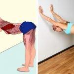 Rozciąganie górnej części ciała w czasie