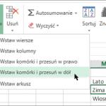 Szybkie porady dotyczące wstawiania rzędów i kolumn programu Excel