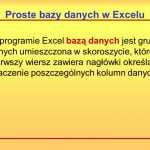 Wiersze kolorów zgodnie z kryteriami w programie Microsoft Excel